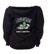 Hawes Sweat Zip Up Hoodies Spirit Wear (Black)
